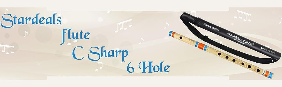 C Sharp 6 Hole Flute