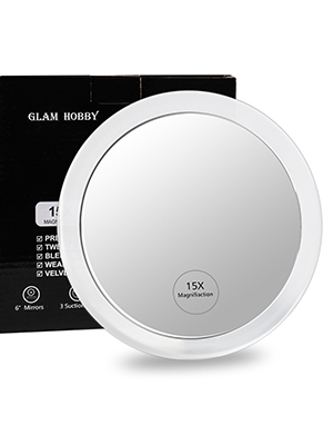 personalised compact mirror for an easy and convenient flawless makeup