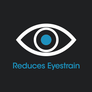 Reduces Eyestrain up to 51%