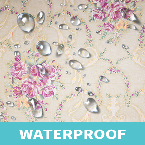 damask floral wallpapers are waterproof