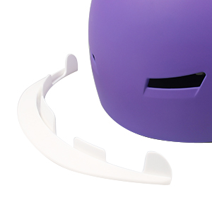 Detachable visor shades