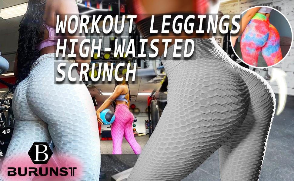 scrunch booty leggings for women