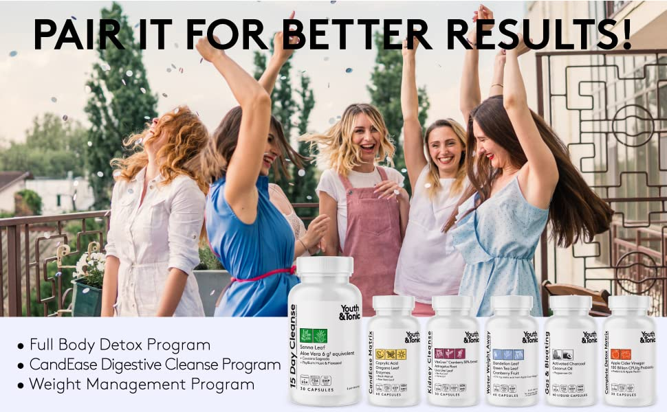 Digestive full body candida weight management program