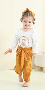 3pcs newborn baby girl clothes