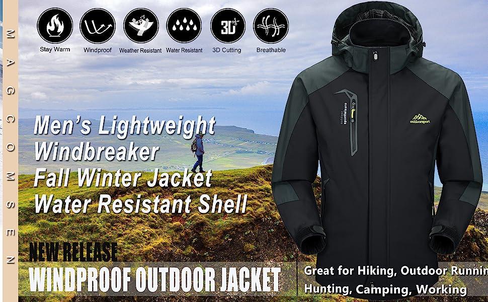 waterproof jacket men