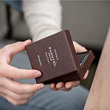 wallet in gift box