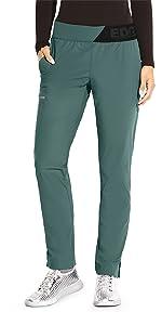 barco grey's anatomy edge gep004 women's slim leg scrub pant