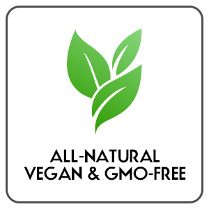 All-Naturals, Non-GMO Free, Vegan