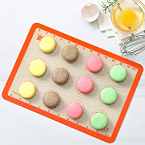 Biscuits parfaits, macarons et plus