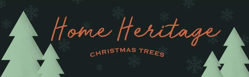 home heritage fake christmas tree