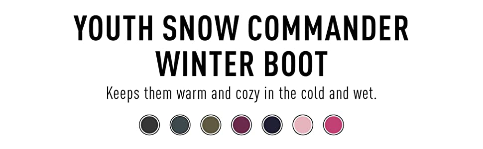 Youth Snow Commander Winter Boot
