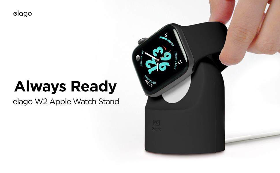 w2 apple watch stand