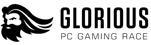 glorious logo top header