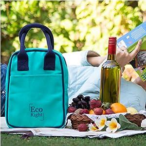 Aqua Lunch Bags