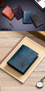 Men's Retro Leather Wallets