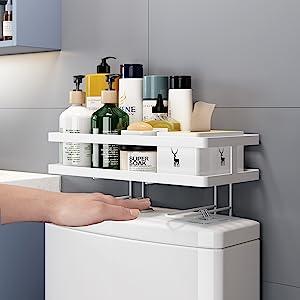toilet storage shelf