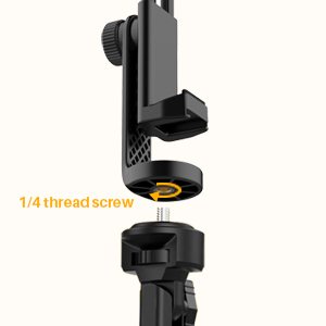 cell phone mount for tripod