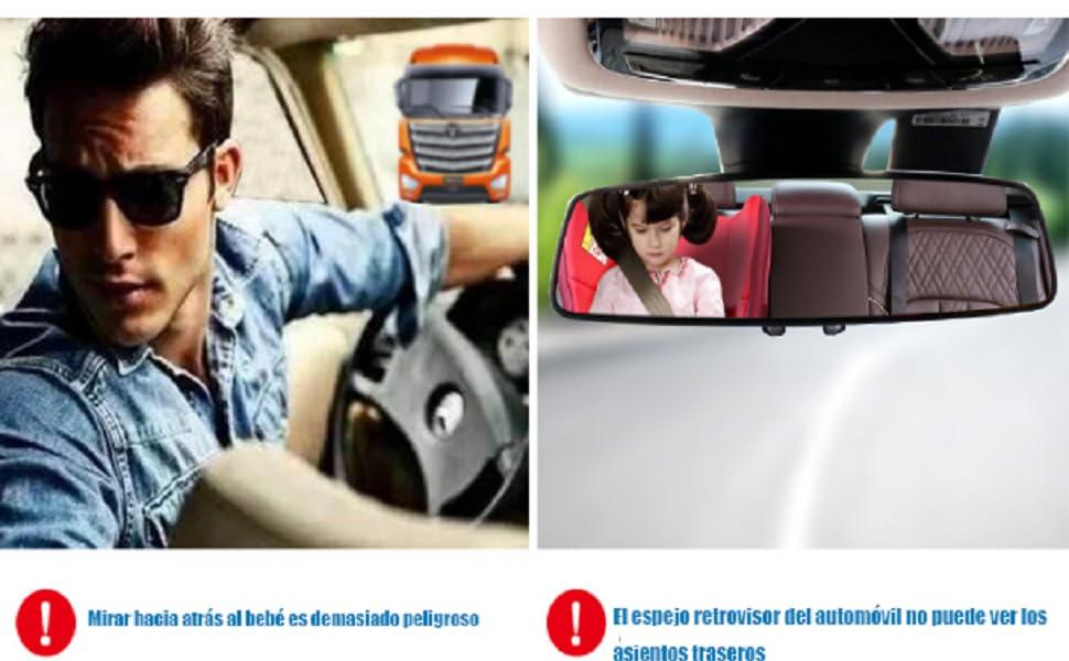 ¿Los padres que viajan con sus niños tienen estos problemas cuando conducen?