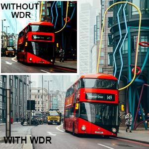 WDR for Low Light Capture