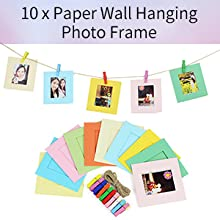 10 x Paper Wall Hanging Photo Frame