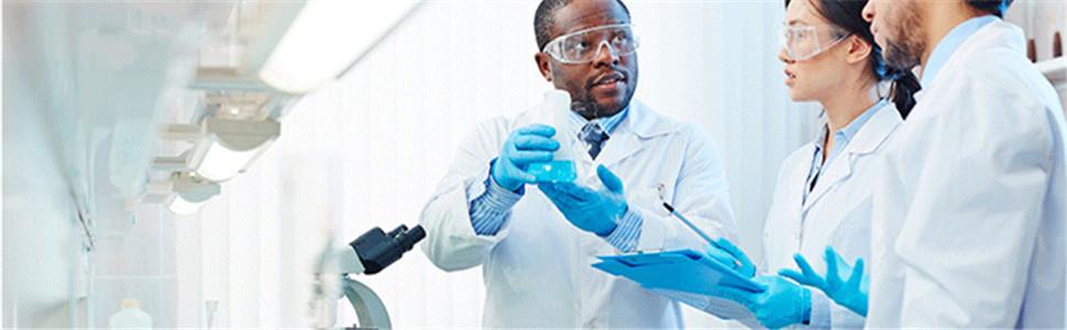 Abollria Blouse Blanche Docteur Manteau Technici Blouse Blanche Chimie Laboratoire Blouse de M/édecin Femme Homme pour /Étudiant et Lyc/éen Pigment