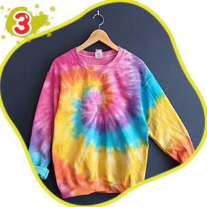 lenbest 26 Colores Tie Dye DIY Kit, Conjunto de Tinte Tie Tie de un Solo Paso Camisa Tela Tinte Duministros No Tóxicos, con 120 Bandas de Goma, 10 ...