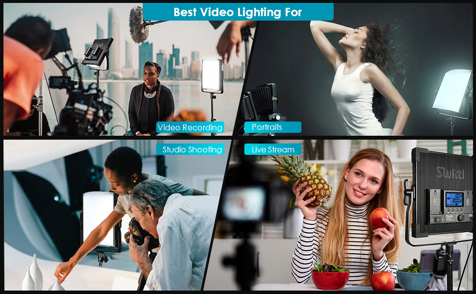 professional lighting for photography