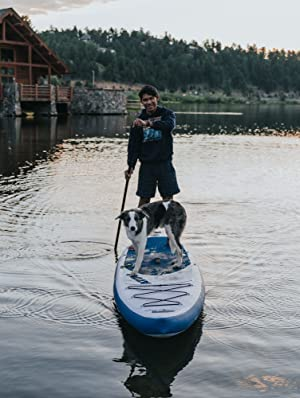 isup sup paddle board inflatable blow up kayak carbon fiber surf pump kids dog pvc fusion