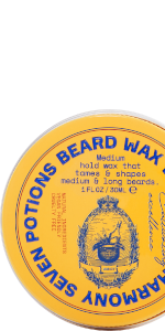 Seven Potions beard wax woodland harmony scent