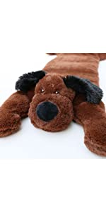 huggaroo weighted lap pad for kids puppy dog