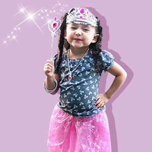 Princess accessories jewelry toys dress up toys for little girl Party favor Birthday gift