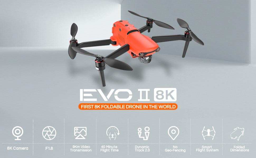 Autel Robotics EVO 2 8K HDR Camera Drone
