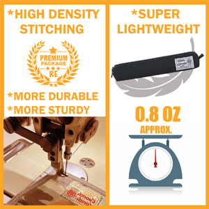 rough enough small pencil case super lightweight high density stitching durable sturdy heavy duty