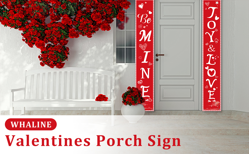 Valentines Porch Sign