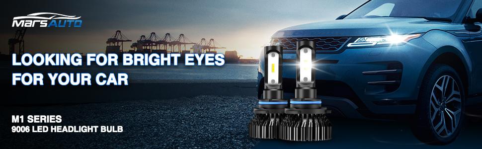 9006 led headlight bulb