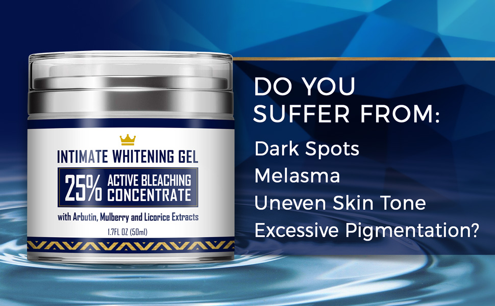intimate whitening cream for Dark Spots Melasma Uneven Skin Tone Excessive Pigmentation