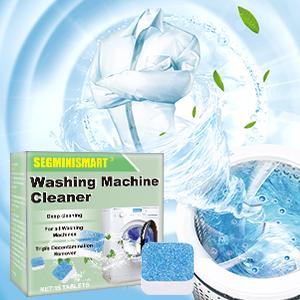 SEGMINISMART Limpiador de Lavadora, Limpiador de Lavadora, Pastillas limpiadoras efervescentes para tabletas, removedor de Limpieza Profunda para baño y Cocina: Amazon.es: Hogar