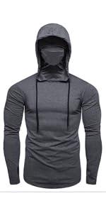 Halfword Mens Casual Sweatshirts Long Sleeves Jogger Athletic Hooded Sweat/Suits