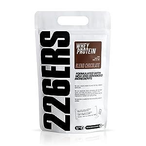 226ERS Whey Protein - Proteína Concentrada de Suero de Leche, Mezcla de Chocolate - 1 kg