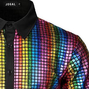 metallic shirts