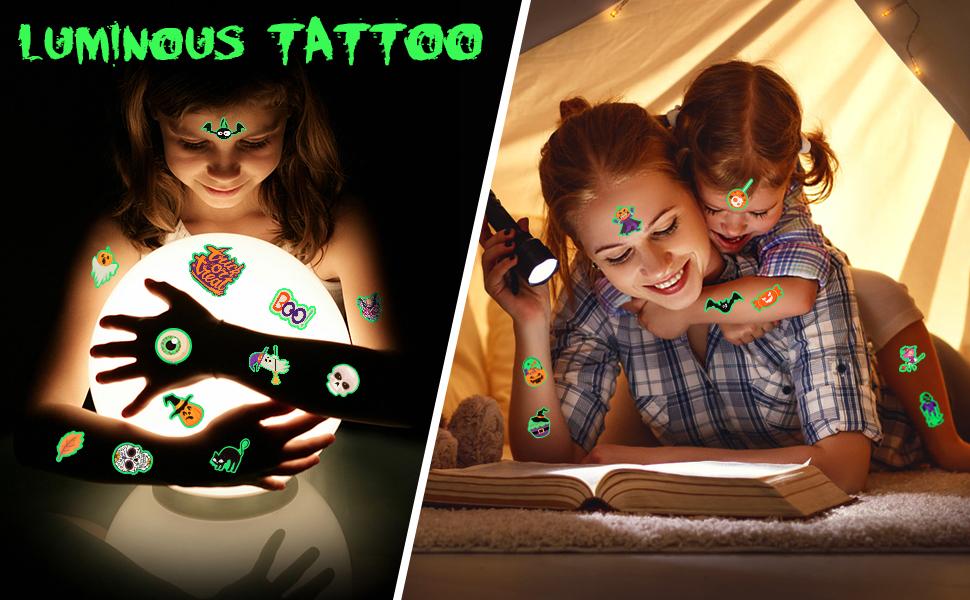 Kids Halloween Tattoos 3