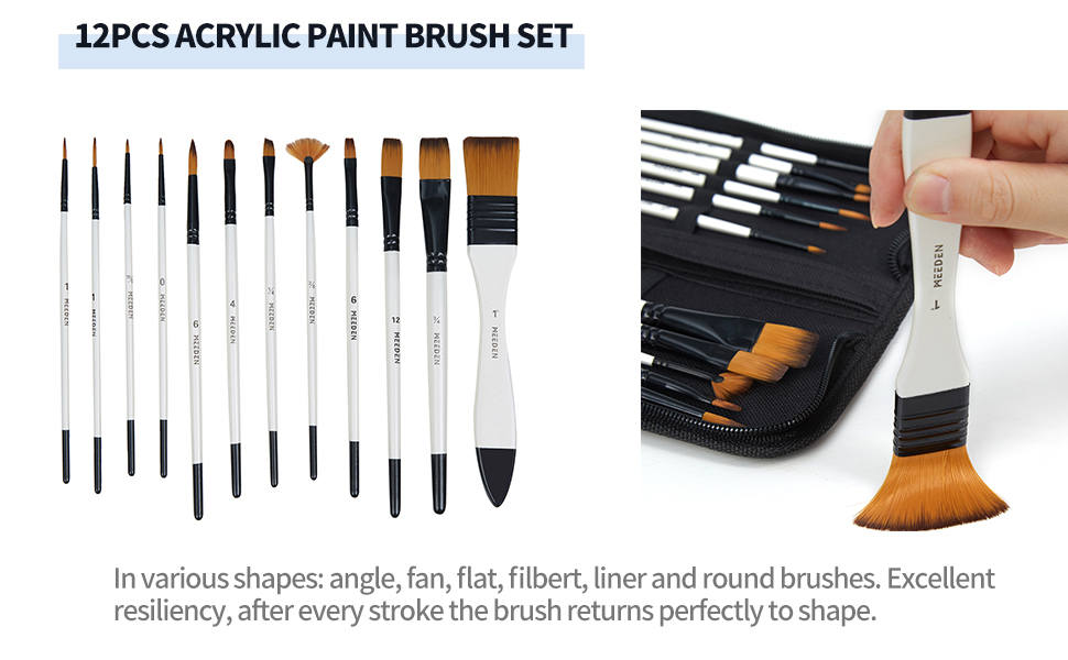 acrylic paintbrush