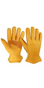 Cowhide Work Gloves