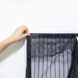 Extsud Mosquitera Magnética para Puertas 120 x 220cm Cortina Protección contra Insectos para Puerta de Balcón Sala de Estar Puerta de Patio Pegado sin Taladrar, Negro: Amazon.es: Bricolaje y herramientas