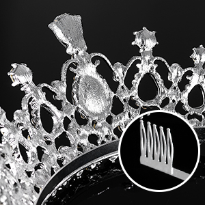 Bridal Tiara Crystal Rhinestones4