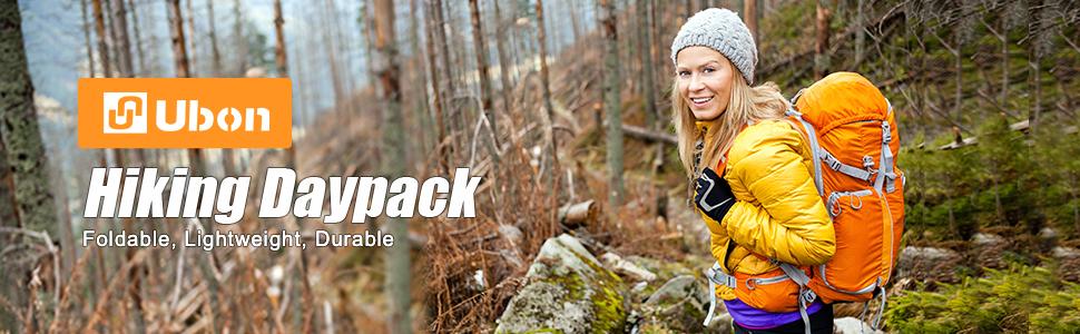 Ubon Foldable Hiking Daypack