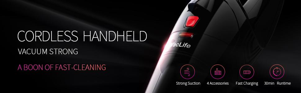 VacLife handheld vacuum-106RE-2