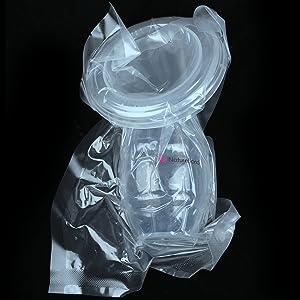 naturebond silicone breast pump manual breast milk saver