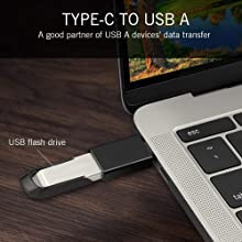 Type C to USB Type A