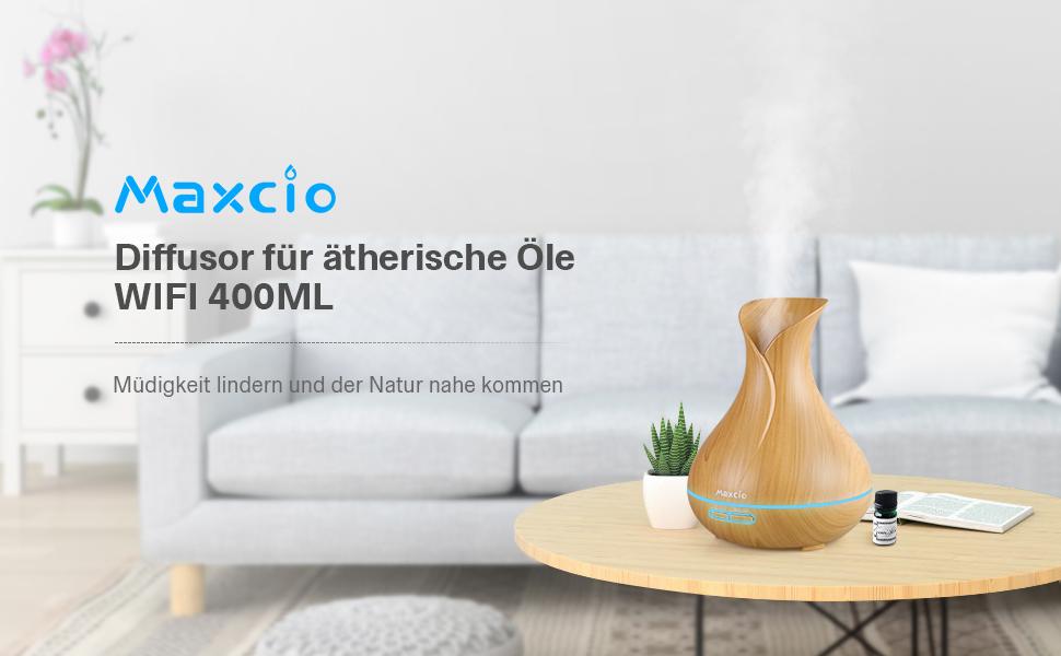 Aroma Diffuser Maxcio Smart 400ml